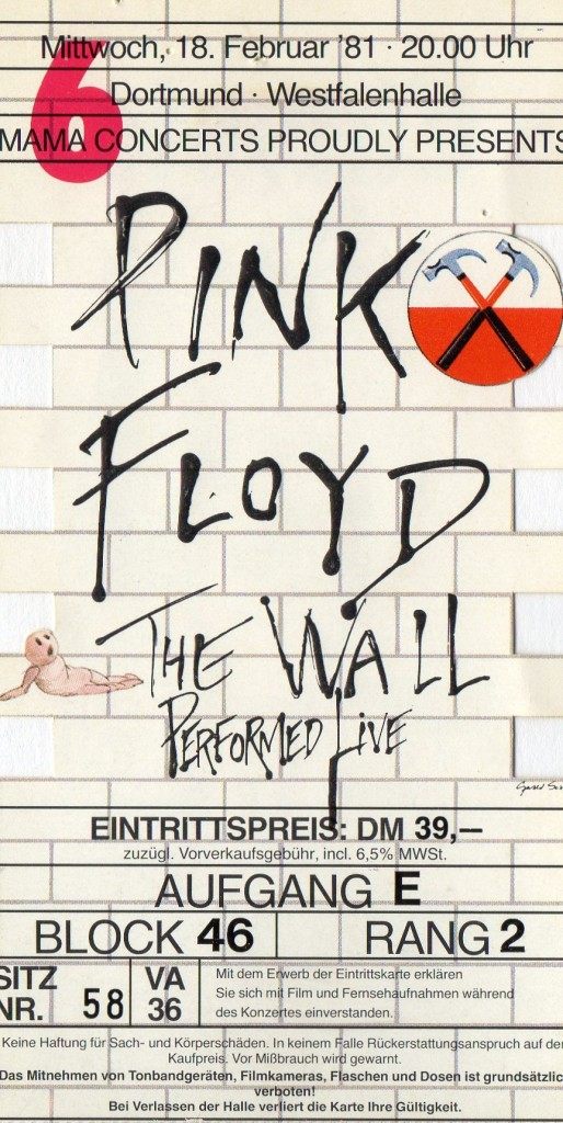 Pink Floyd-The Wall 1981-02-18 Westfalenhalle